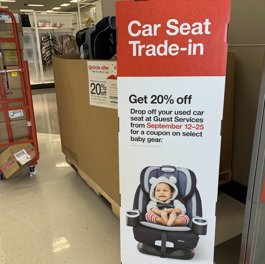 target carseat recycling